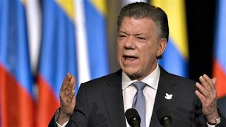 Download Colombia's Santos Inks New Peace Deal With FARC Video