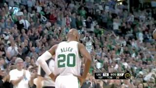 Download Ray Allen makes history as the three-point king (All time threes) Video