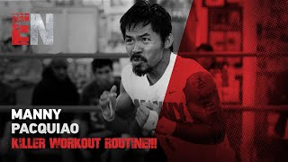 Download Manny Pacquiao KILLER WORKOUT ROUTINE!!! - EsNews EXCLUSIVE Video
