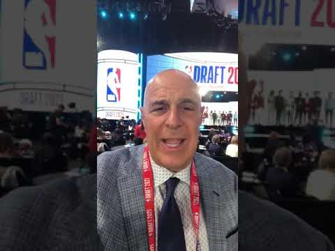 Seth Greenberg is live from Barclays Center to breakdown all the #NBADraft Lottery picks | #shorts