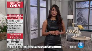 Download HSN | Sevilla Silver with Technibond Jewelry 01.19.2017 - 11 PM Video