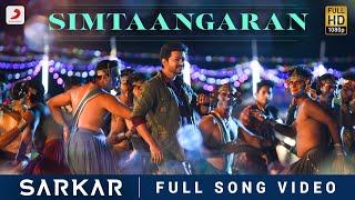 Download Sarkar - Simtaangaran Video | Thalapathy Vijay | A .R. Rahman | A.R Murugadoss Video