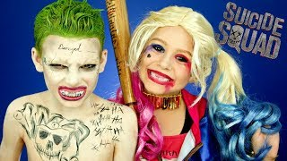 Download Harley Quinn and Joker Suicide Squad Makeup and Costumes Video