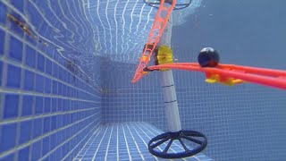 Download Marble Run in the Swimming Pool Video