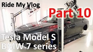 Download High End Car Detailing Ride My Vlog 10 with 2018 BMW 7 series, Tesla Model S and more Video