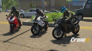 Download The Crew 2   Sport Bike Showdown - 273HP Ninja H2 Build   Ninja vs S1000RR, Panigale R, Hellcat, + Video