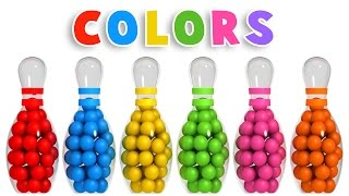 Download Colors for Children to Learn with 3D Bowling Game - Colours Videos Collection for Children Video