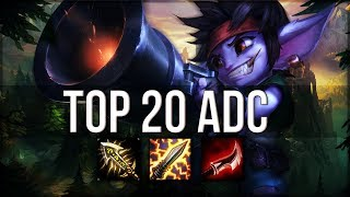 Download Top 20 ADC Plays #04 | League of Legends Video