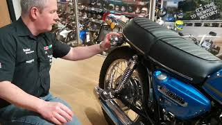 Download Classic Suzuki T500 at Youles Motorcycles, Blackburn. Video