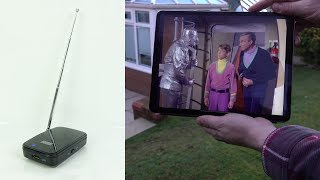 Download WiFi Digital TV tuner for tablet/phone - REVIEW Video