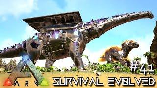 Download ARK: SURVIVAL EVOLVED - BIONIC GOD TITANOSAUR WRECKS FACE !!! E41 (MODDED ARK CENTER GAMEPLAY) Video