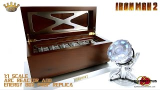 Download King Arts Iron Man 2: 1/1 Scale Energy Plate Box & Reactor Replica Video Review Video