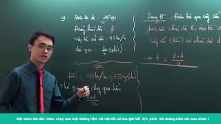 Download Ôn thi vào 6 trường chuyên - Đề số 1 - Thầy Nguyễn Thành Long Video