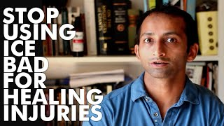 Download Stop using ice bad for healing injuries | Manu Kalia | Video 69 | TridoshaWellness Video