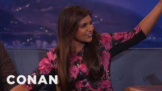 Download Mindy Kaling Got Wasted At Conan's House - CONAN on TBS Video
