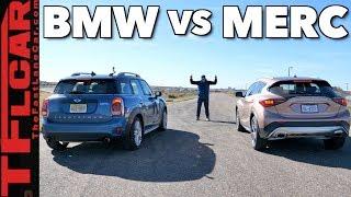 Download Disguised German Drag Race: MINI Cooper Countryman vs Infiniti QX30 Video