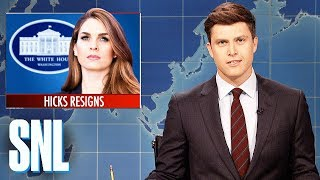 Download Weekend Update on Hope Hicks's Resignation - SNL Video