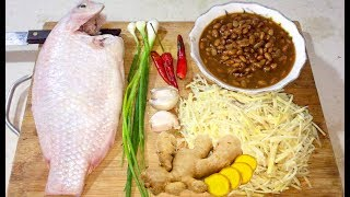 Download Fried Fish Ginger - Asian Food Recipes, Cambodian food Cooking, Village Food Factory Video