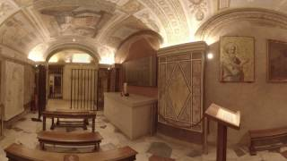 Download 360 Video: Inside the Tomb of St. Peter at the Vatican Video