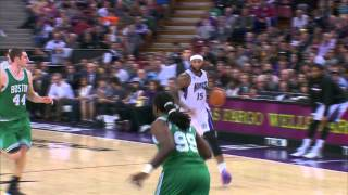 Download DeMarcus Cousins Throws Monster Dunk Down on Jae Crowder Video