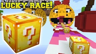 Download Minecraft: MS. PACMAN LUCKY BLOCK RACE - Lucky Block Mod - Modded Mini-Game Video