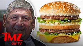 Download McDonald's Big Mac Creator Dies at 98, Super Size Me' Guy Downs Tribute Big Mac | TMZ TV Video