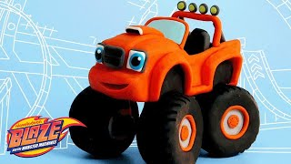 Download How to Make Blaze from Clay 🚗 | DIY Crafts | Nick Jr. Video