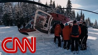 Download Search and rescue in the Rocky Mountains - 360 Video Video