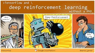 Download Tensorflow and deep reinforcement learning, without a PhD by Martin Gorner Video
