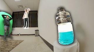 Download ULTIMATE BOTTLE FLIPPING IN NEW OFFICE! Video