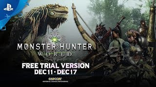 Download Monster Hunter: World - Free Trial Trailer | PS4 Video