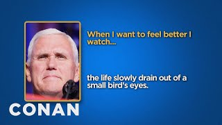 Download Celebrity Survey: Mike Pence, Donald Trump Edition - CONAN on TBS Video