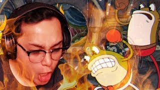 Download CUPHEAD ON EXPERT | RIBBY & CROAKS | GAME MACHINE BROKE Video