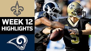 Download Saints vs. Rams | NFL Week 12 Game Highlights Video