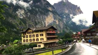 Download Most beautiful places to see , Murren-Gimmelwald and Lauterbrunnen -Switzerland Video