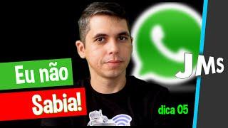 Download 05 Curiosidades e truques do Whatsapp que você NÃO Sabia Video
