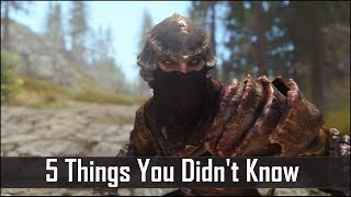 Download Skyrim: 5 Things You Probably Didn't Know You Could Do - The Elder Scrolls 5: Secrets (Part 5) Video