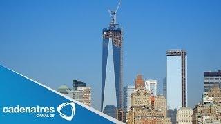 Download Inauguran torre de oficinas en la zona cero de Nueva York Video