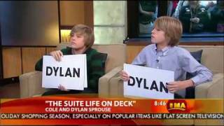 Download Dylan & Cole Sprouse on Good Morning America - 2008. Video