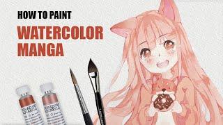 Download Neko Kawaii colouring tutorial (without Copic!) ✎ CurtisSheeran Video