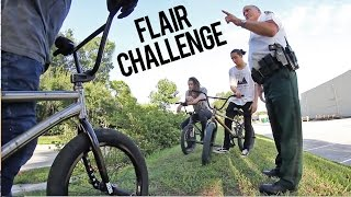 Download $100 BMX Flair Challenge - COPS Video