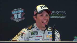 Download NASCAR at Indianapolis Motor Speedway, August 2017: Brad Keselowski, Ryan Newman post race Video