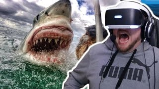 Download We get Attacked by a Great White Shark!?!? (PLAYSTATION VR) Video