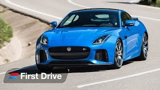 Download 2016 Jaguar F-Type SVR first drive review: A 200mph V8 muscle car? Video