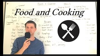 Download Vocabulary FOOD and COOKING (Lesson 11) Video