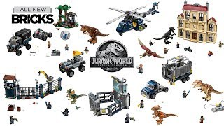 Download Lego Jurassic World Fallen Kingdom Compilation of All Sets Video