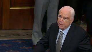 Download McCain returns to Senate floor (full speech) Video
