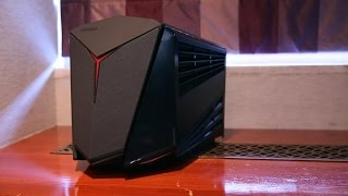 Download Lenovo shrinks its gaming desktop down to the Y710 Cube Video