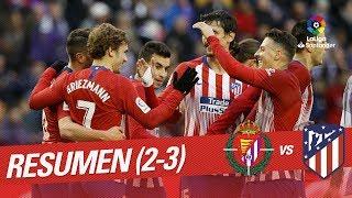 Download Resumen de Real Valladolid vs Atlético de Madrid (2-3) Video