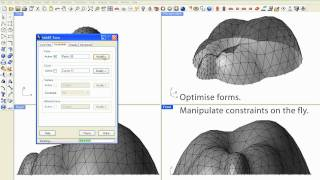 Download SmartForm: Realtime optimization of architectural forms Video